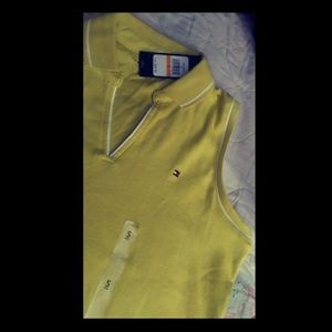💛SP Tommy H. Yellow top💝